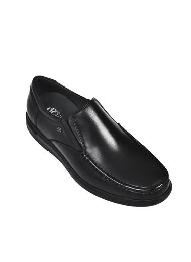 Dr.Flexer Dr.Flexer 308005 Comfort Taban Kalınlığı Yaklaşık 3 Cm Hakiki Deri Erkek Ayakkabı Siyah